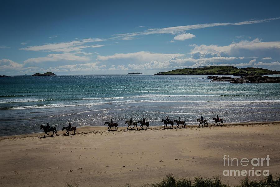 Derrynane Beach by Eva Lechner