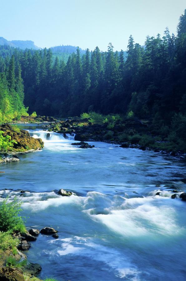 Deschutes River, Oregon, August Photograph by Lawrencesawyer