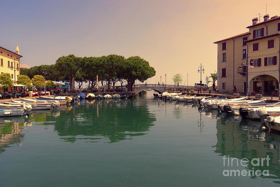 Desenzano del Garda Italy by Ann Garrett