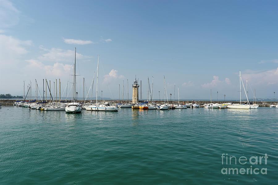 Desenzano del Garda Lighthouse by Ann Garrett