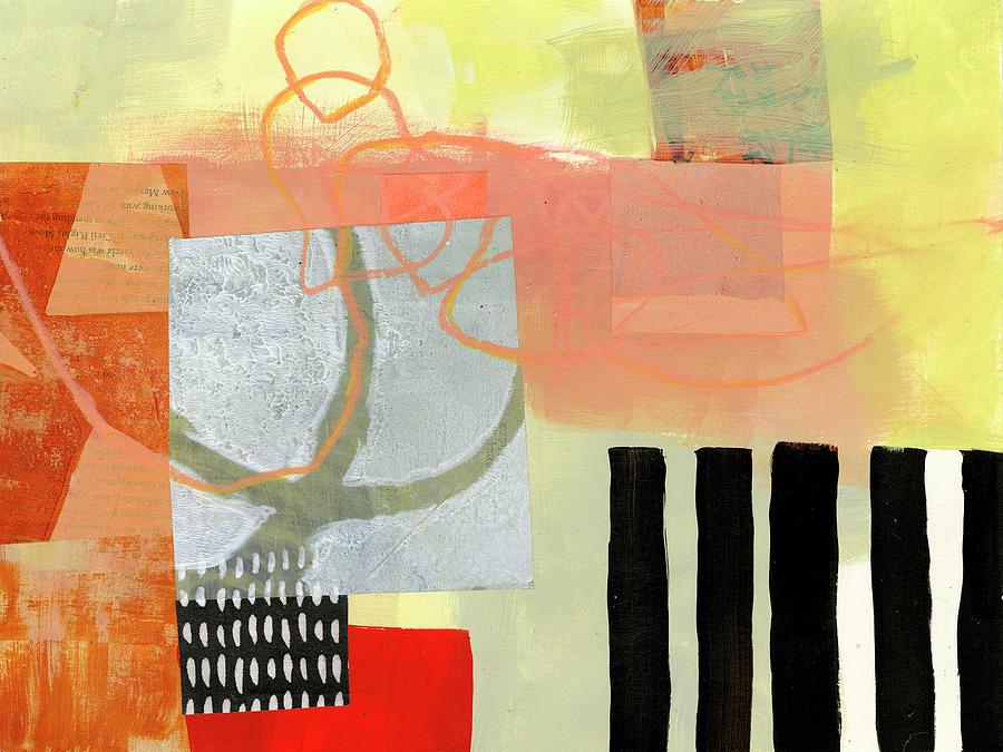 Pattern Painting - Desert Dream #4 by Jane Davies