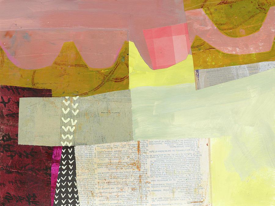 Pattern Painting - Desert Dream #6 by Jane Davies