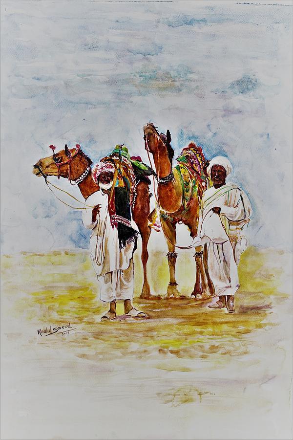 Desert dwellers by Khalid Saeed