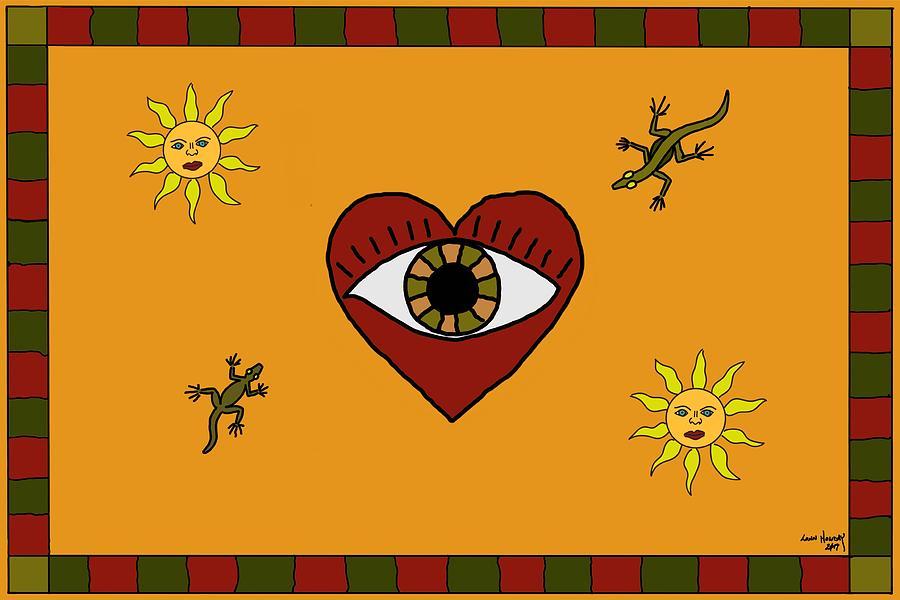 Desert Eye by Lonn Holiday