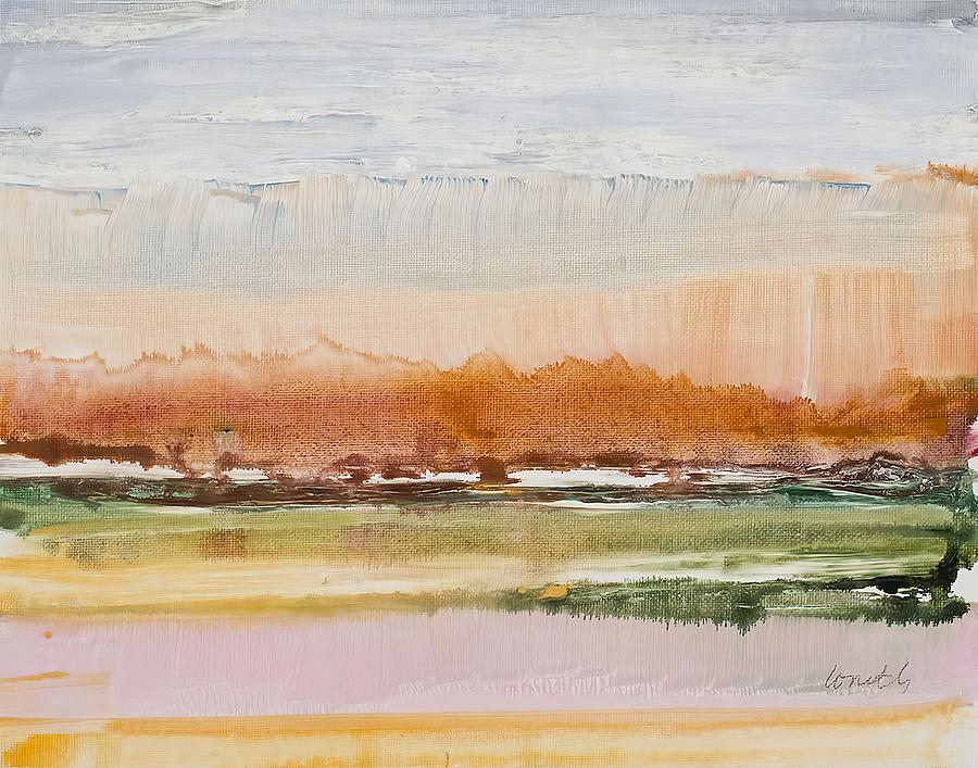 Abstract Painting -  Desert Grasslands    by Lanie Loreth