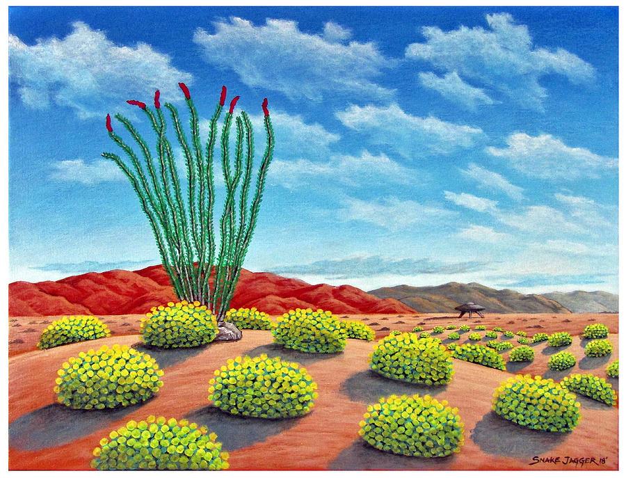 Desert Landing by Snake Jagger
