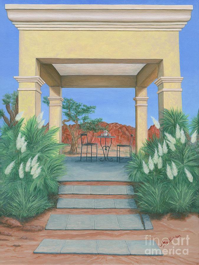 Desert Oasis by Aicy Karbstein