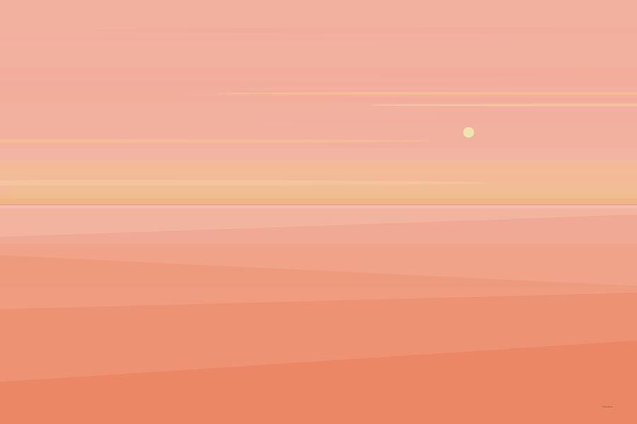 Desert Peach Dawn by Val Arie