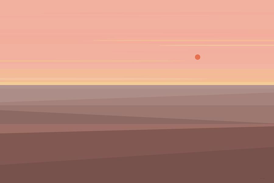 Desert Peach by Val Arie