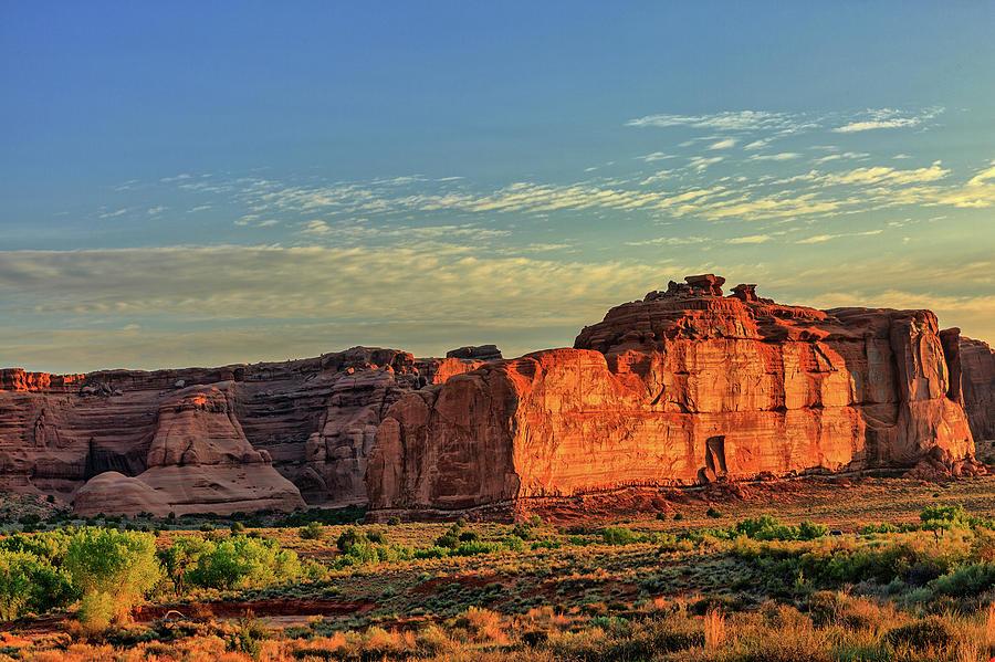 Desert Sunrise in Color by Kyle Lee