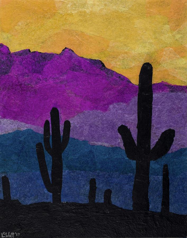 Desert Sunset by Laelia Watt