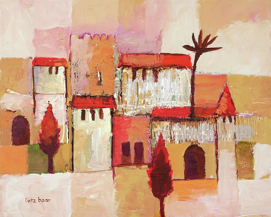 Desert Town by Lutz Baar