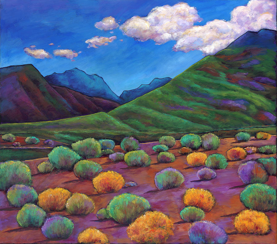Arizona Painting - Desert Valley by Johnathan Harris