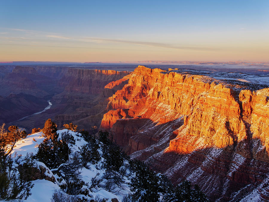 Desert View at Sunset by Todd Bannor