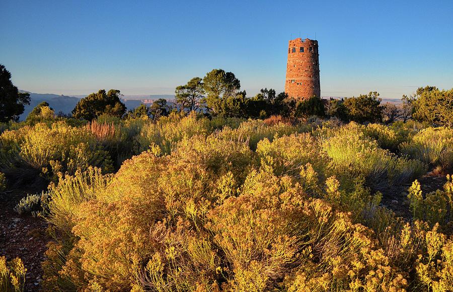 Desert View Watchtower by Chance Kafka