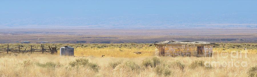 Deserted Hogan in New Mexico by Daniel Ryan