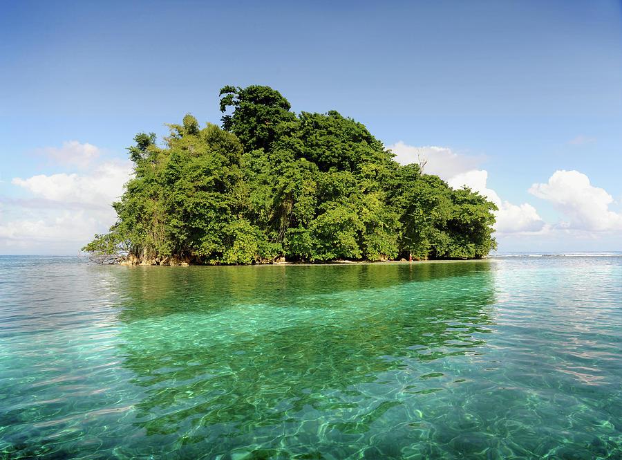 Deserted Tropical Island By © Rick Elkins