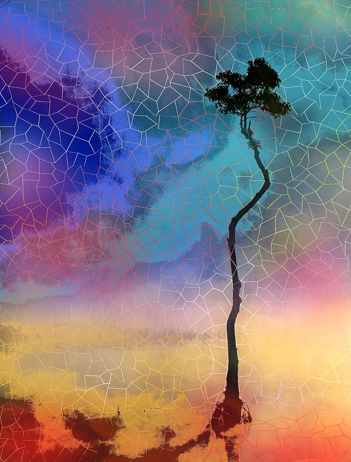 Design 140 tree silhouette by Lucie Dumas