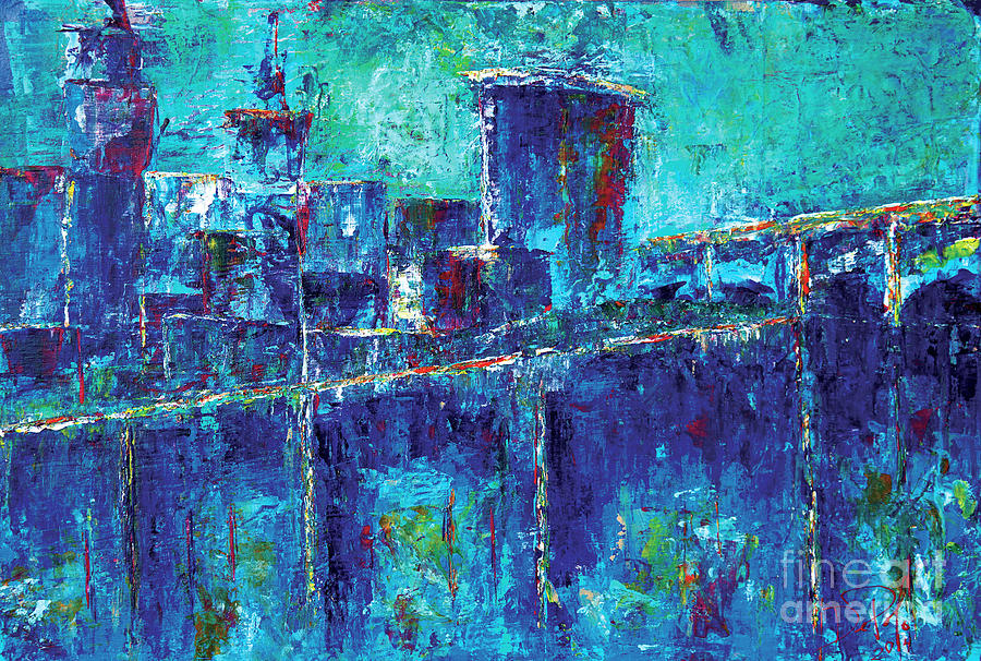 Cleveland Painting - Destination Cleveland by JoAnn DePolo