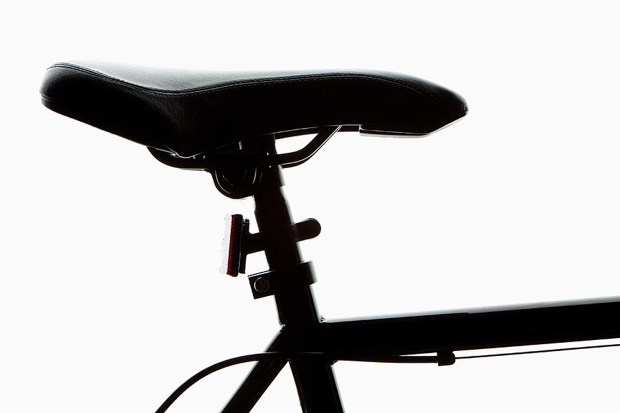 Detail Of A Bicycle Seat, Back Lit Photograph by Epoxydude