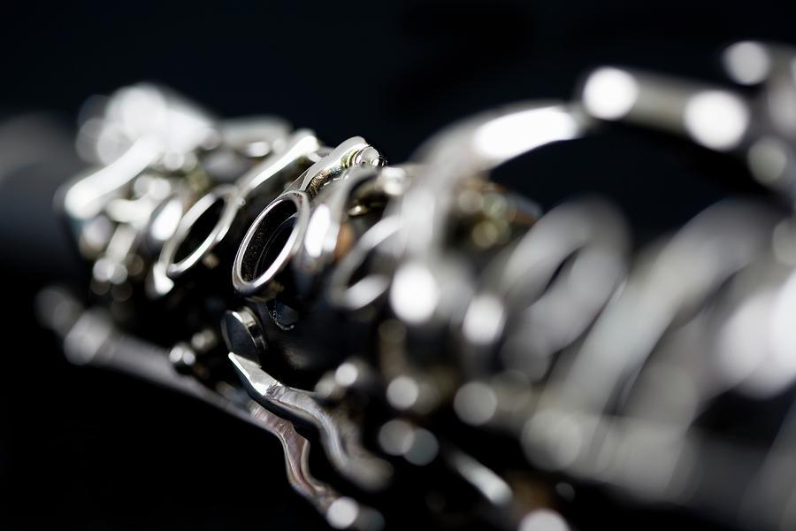 Detail Of A Clarinet Photograph by Junior Gonzalez