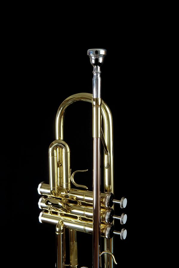 Detail Of A Trumpet Photograph by Junior Gonzalez