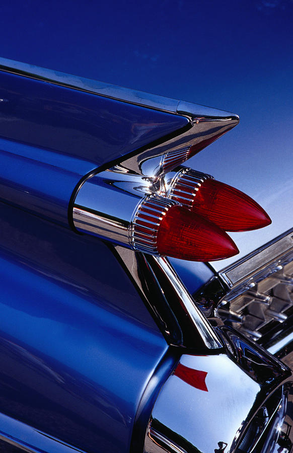 Detail Of An American Cadillac, Eze Photograph by Richard Ianson