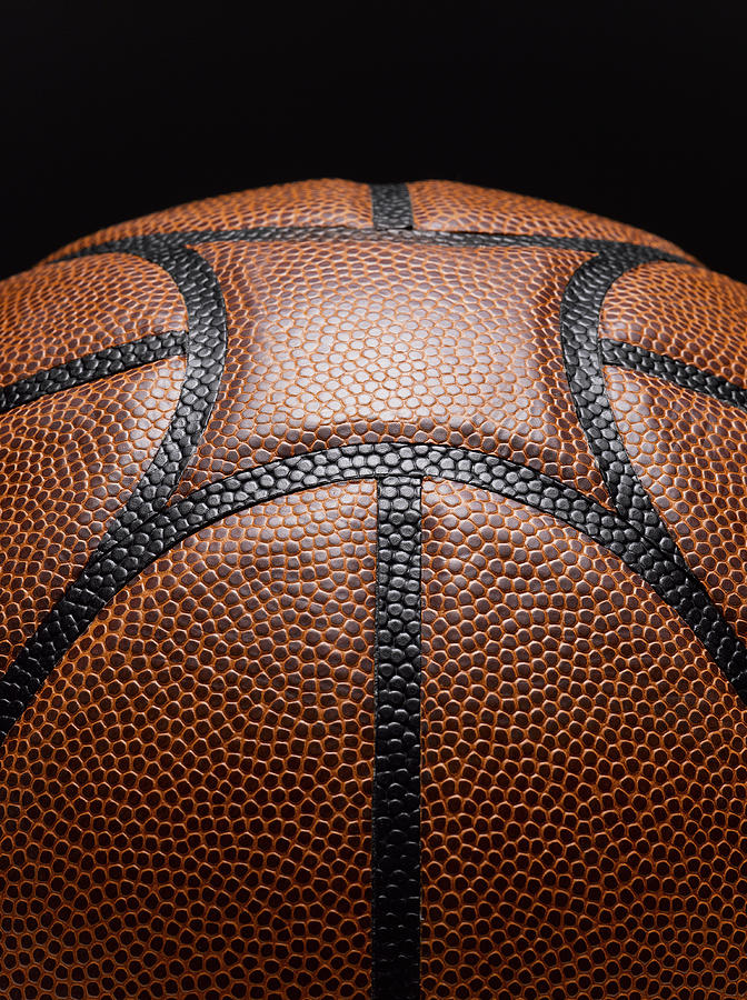 Detail Of Basketball Photograph by Jeffrey Coolidge