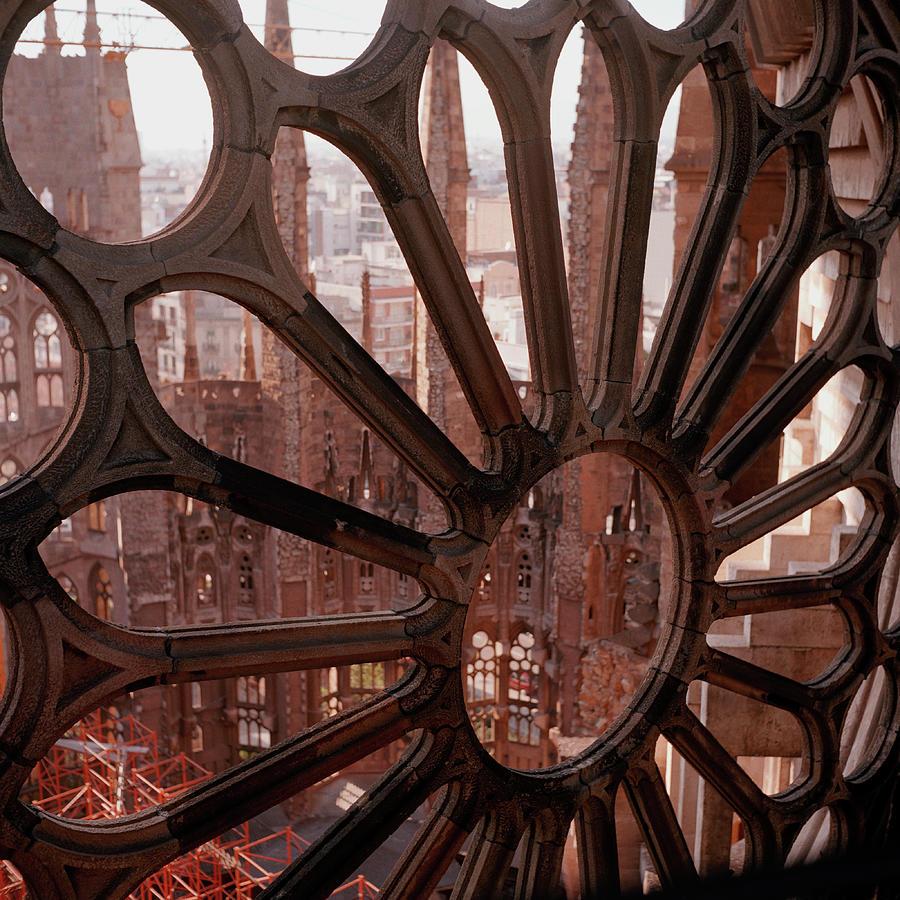 Detail Of La Sagrada Familia Photograph by Fstop Images - Tobias Titz