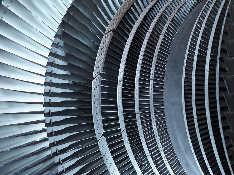 Detail Of Turbine Photograph by Monty Rakusen