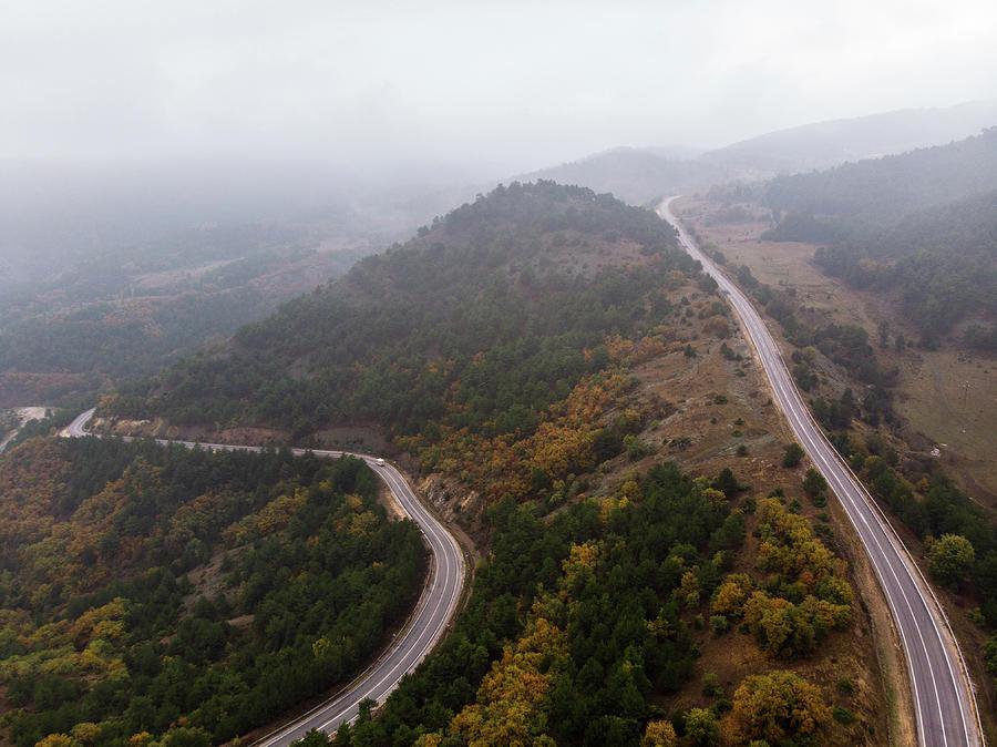 Nature Photograph - Detour-2 by Okan YILMAZ