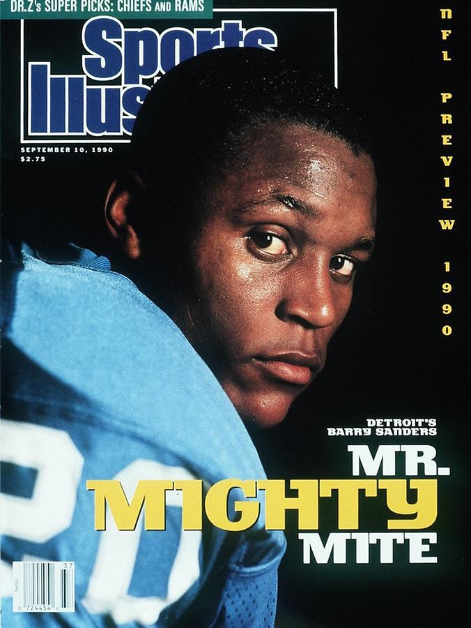 Detroit Lions Barry Sanders Sports Illustrated Cover Photograph by Sports Illustrated