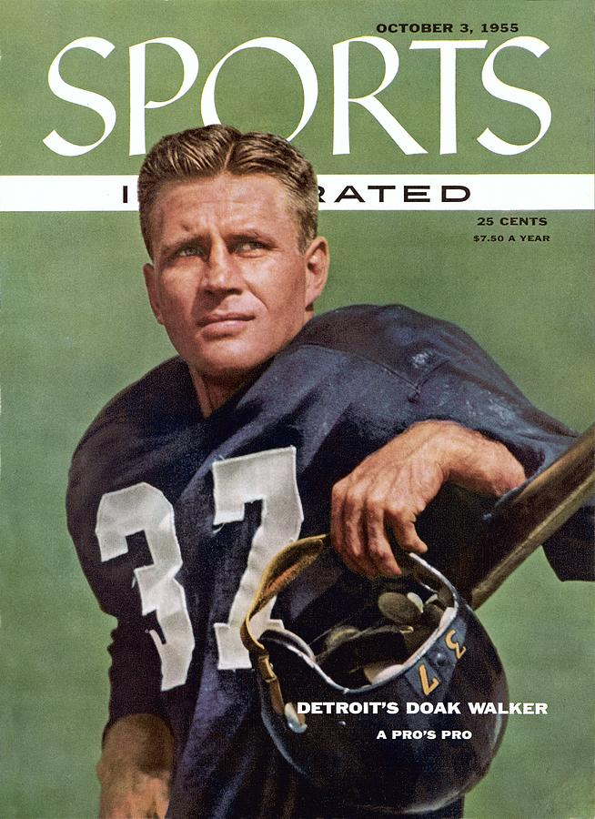 Detroit Lions Doak Walker Sports Illustrated Cover Photograph by Sports Illustrated