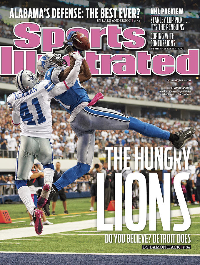 Detroit Lions V Dallas Cowboys Sports Illustrated Cover Photograph by Sports Illustrated