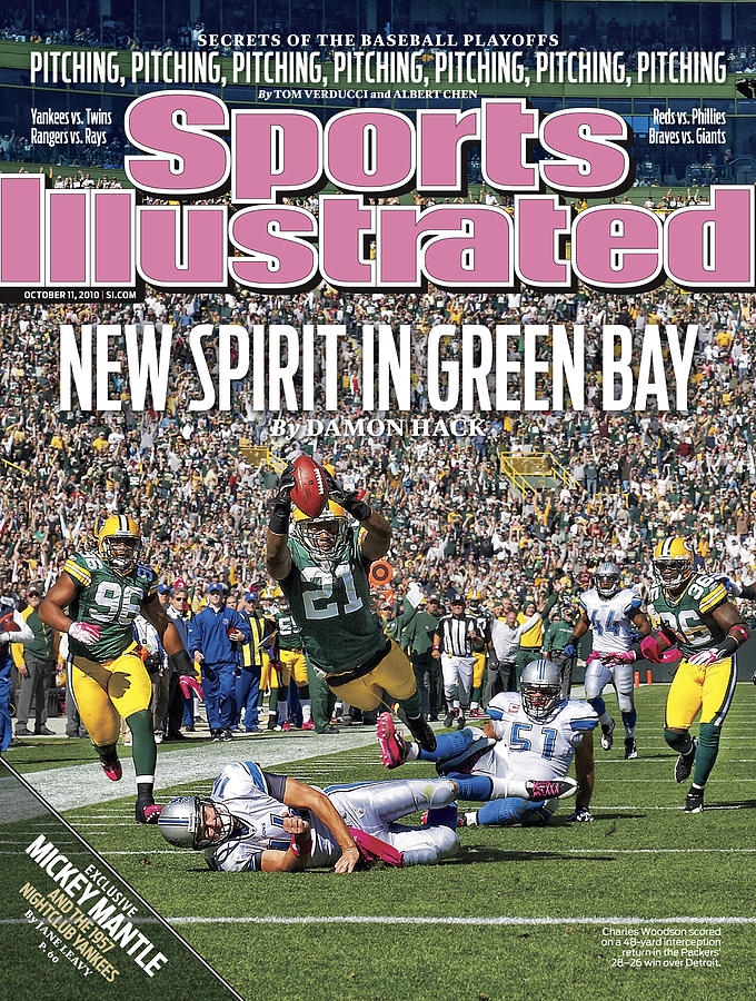 Detroit Lions V Green Bay Packers Sports Illustrated Cover Photograph by Sports Illustrated