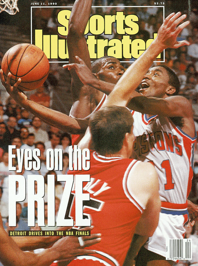 Detroit Pistons Isiah Thomas, 1990 Nba Eastern Conference Sports Illustrated Cover Photograph by Sports Illustrated