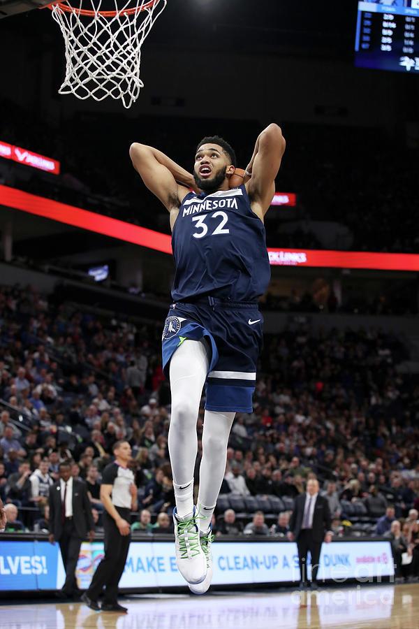 Detroit Pistons V Minnesota Timberwolves Photograph by Jordan Johnson