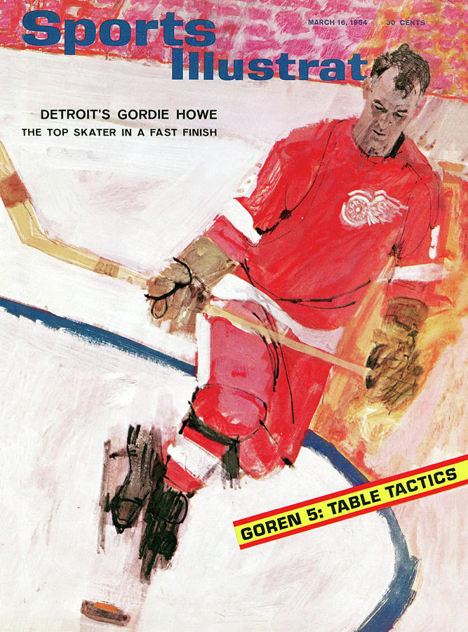 Detroit Red Wings Gordie Howe Sports Illustrated Cover Photograph by Sports Illustrated