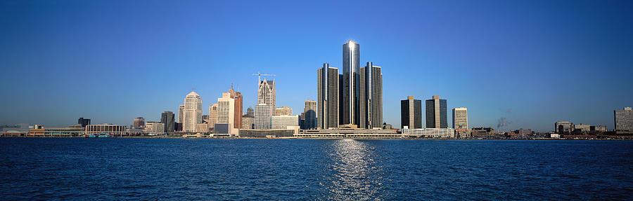 Detroit Skyline Photograph by Visionsofamerica/joe Sohm