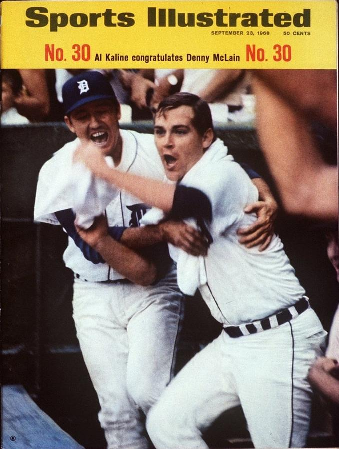 Detroit Tigers Al Kaline And Denny Mclain Sports Illustrated Cover Photograph by Sports Illustrated