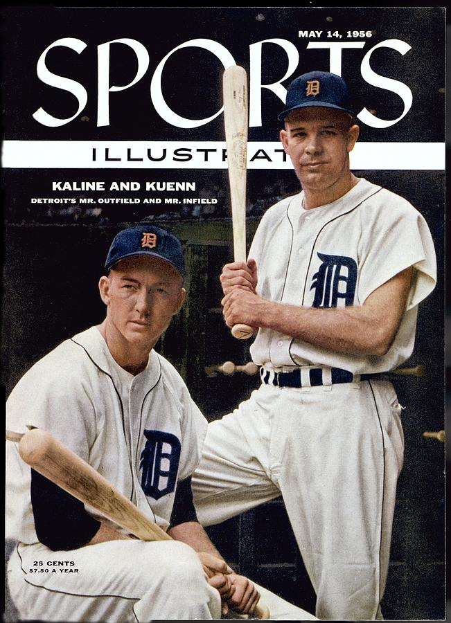 Detroit Tigers Al Kaline And Harvey Kuenn Sports Illustrated Cover Photograph by Sports Illustrated