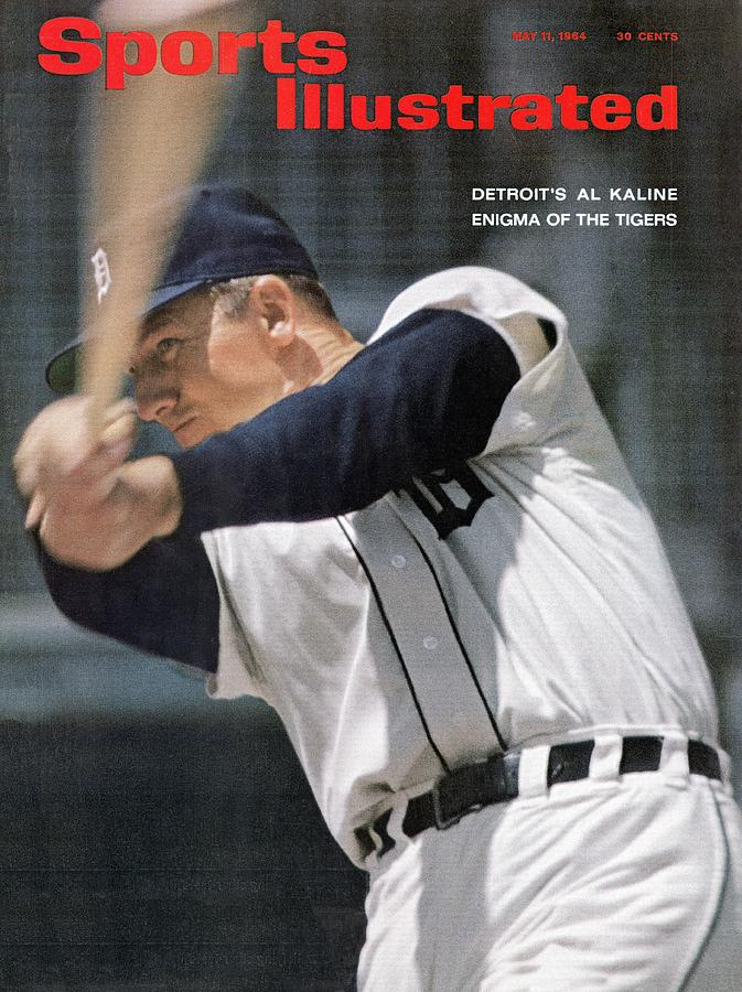 Detroit Tigers Al Kaline Sports Illustrated Cover Photograph by Sports Illustrated