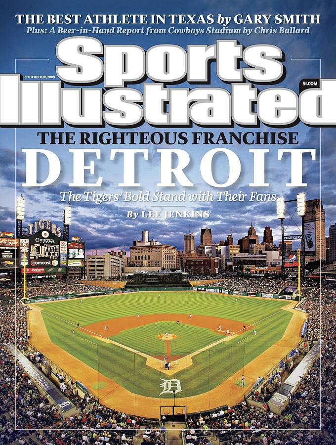 Detroit Tigers Comerica Park Sports Illustrated Cover Photograph by Sports Illustrated
