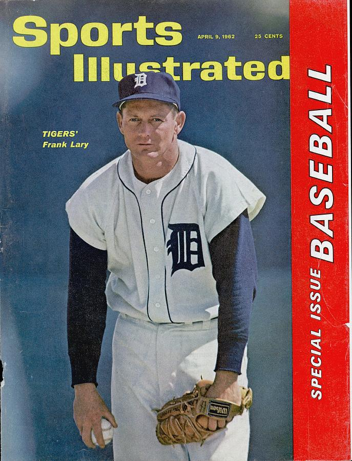 Detroit Tigers Frank Lary... Sports Illustrated Cover Photograph by Sports Illustrated