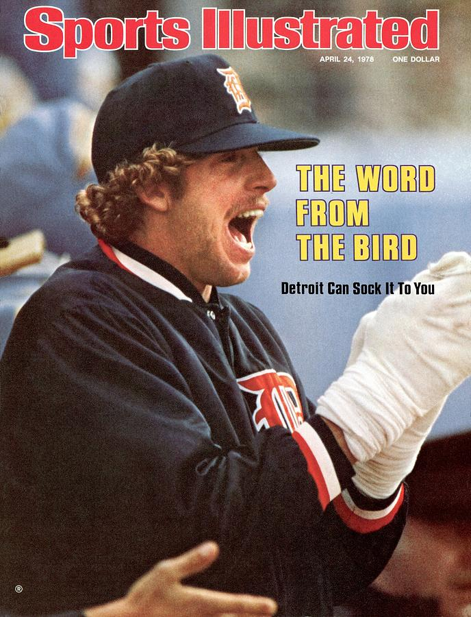 Detroit Tigers Mark Fidrych Sports Illustrated Cover Photograph by Sports Illustrated