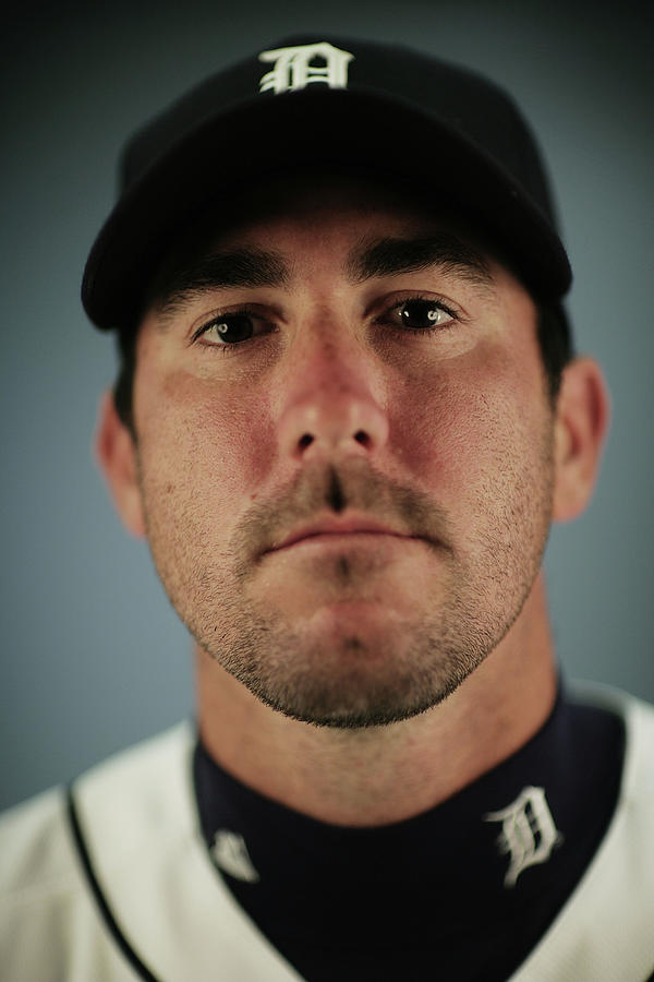 Detroit Tigers Photo Day Photograph by Nick Laham