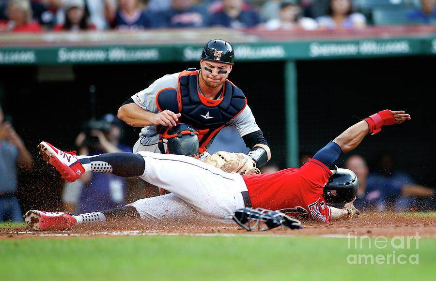 Detroit Tigers V Cleveland Indians Photograph by Ron Schwane