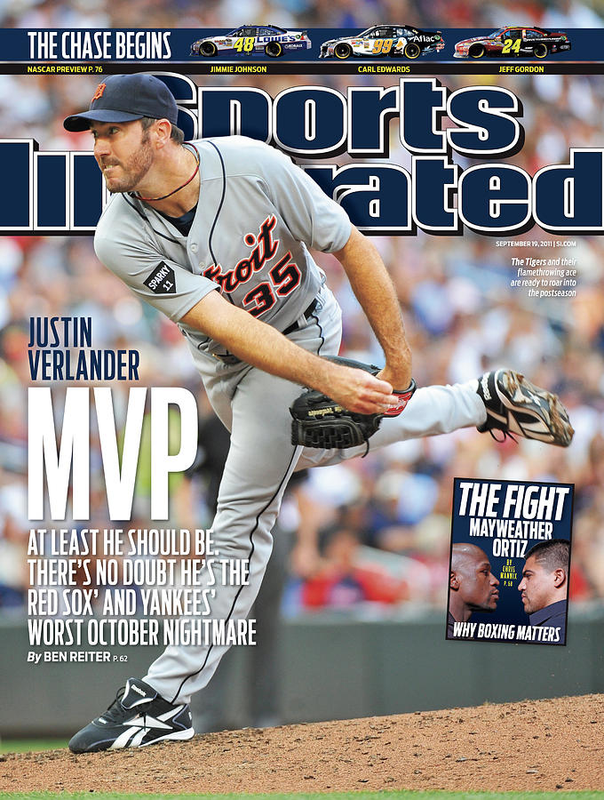 Detroit Tigers V Minnesota Twins Sports Illustrated Cover Photograph by Sports Illustrated