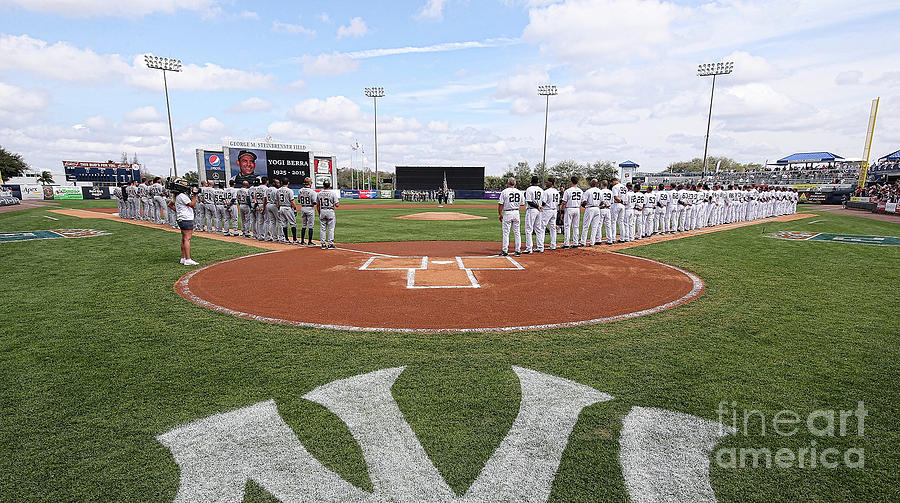 Detroit Tigers V New York Yankees Photograph by Leon Halip
