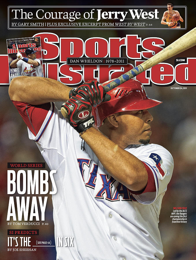 Detroit Tigers V Texas Rangers - Game 6 Sports Illustrated Cover Photograph by Sports Illustrated